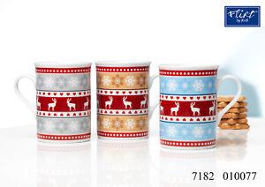 Kaffeebecher 280ml sortiert 6er Set Alpenweihnacht - Ritzenhoff & Breker