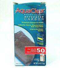 NEW!!~PACKAGE DAMAGE Hagen AquaClear 50 Activated Carbon Filter Aquarium Media