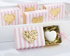 Heart Of Gold Scented Heart Shaped Soap Baby Shower Favors