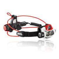 Petzl Unisex NAO Plus Headlamp - Black Sports Running Outdoors Lightweight
