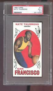 1969-70 Topps #10 Nate Thurmond ROOKIE RC PSA 5.5 Graded Basketball Card 1969