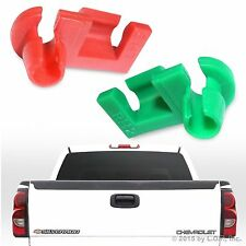 2 New Fits GM 99-07 Silverado Sierra Tailgate Handle Rod Clips 88981030 88981031