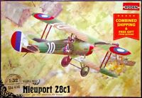 Roden 616 - 1/32 - Nieuport 28C1 French fighter-biplane WWI plastic model kit