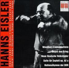 Hanns Eisler: Choral Songs; Children's Songs; Popular Songs, New Music