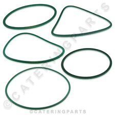 More details for round rubber 8mm thickness drive belt for pizza dough roller stretcher machine