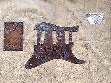 Tooled Leather Pickguard Fender Stratocaster Stevie Ray Vaughan SRV SSS HSS HH