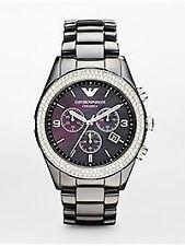 Runde Emporio Armani Armbanduhren