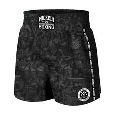 Wicked One Born To Resist Boxing Shorts Adult Kickboxing Fight Shorts Wicked1