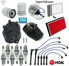 Tune Up Kit Wires Spark Plugs Filters for Nissan Xterra V6; 3.3L 2000-2004
