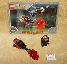LEGO Sets: Alpha Team: Mission Deep Sea: 4798-1 Evil Ogel Attack (2002) 100%