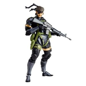 NEW Revoltech Yamaguchi No.131 Metal Gear Solid Peace Walker SNAKE Figure