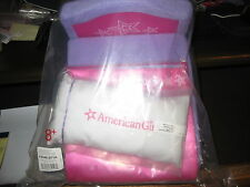 American Girl Hotel Foldable Bed with Pillow and Blanket Pink Purple 2013 NIP