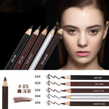 Double-head Eyebrow Pencil Waterproof Eyes Makeup Eyebrow Enhancer with Brush-