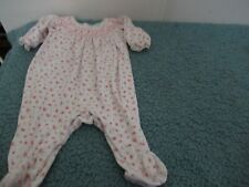 Girls Petit Ami Floral Smocked 3 month 1 piece outfit