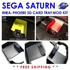Sega Saturn Rhea Phoebe Drive Bay Insert SD Card Tray Mount GDEMU Console Steam