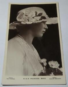 PRINCESS MARY REAL PHOTO POSTCARD  1922      803