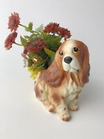 VINTAGE NAPCO NAPCOWARE COCKER SPANIEL DOG PLANTER