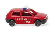 Feuerwehr - VW Golf III Wiking 093405 Spur N 1:160 Modellauto Automodell