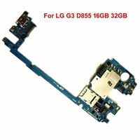 For LG G3 D855 16GB 32GB Original Mainboard Motherboard Unlocked Repair Parts