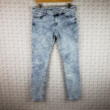 Arizona Womens Juniors Acid Wash Jegging Blue Jean Pants Size 13