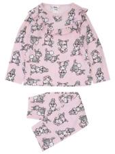 Disney Girls Adorable Bambi Thumper Pink Pyjamas 3-4 Years BNWT