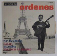 Tour Eiffel 45 tours Ordenes RCA 1968