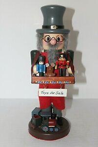 "Vtg Expressions German Nutcracker ""Toy Maker"" Limited Edition"