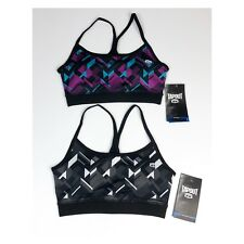 Tapout Bundle of (2) X-Small Printed Sports bras Racerback