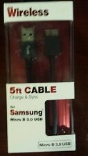 Just wireless Samsung Micro B 3.0 USB
