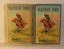 1911 HC w/ DJ NATHAN TODD by Edward S. Ellis STONE LITHOGRAPH
