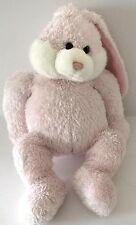Gund Animal Stuffed Toy Rabbit Pink & White 10in