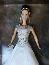 Diseñador Badgley Mischka Novia Barbie 2004 Platino only999 Mundial B8946 NRFB