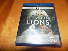 THE WHITE LIONS PBS NATURE Rare Lion Africa African Wild Cat BLU-RAY DISC NEW