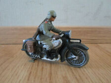 rare prewar german  Lineol motorcycle with Motorsturm soldier composition WWII