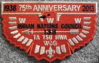 OA Lodge 138 Ta Tsu Hwa 75th Anniversary - Indian Nations Council OA/BSA