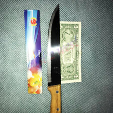 """1 BIG Stainless Steel Kitchen Knife 7.5""""  with Handel total size 12.5"""" KM8035"""