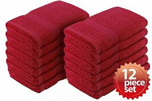 """Crover Fast Drying Super Absorbent Terry Cloth Bath&Kitchen Hand Towel 16""""x27"""""""