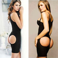 Women Full Body Shaper Tummy Trimmer Slimming Girdle Waist Cincher Suit Control