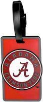 Alabama Crimson Tide Bama A Rubber Luggage Travel Bag Tag ID Tag