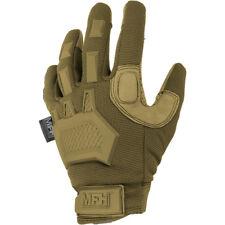 MFH Action Tactical Gloves Mens Outdoor Trekking Race Hauntlet Grip Coyote Tan