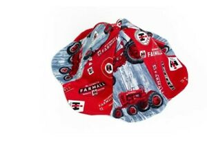 Red Farmall Tractor Infant Sun Hat, 0-6 Month