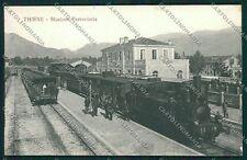 Vicenza Thiene Stazione Treno cartolina EE5432