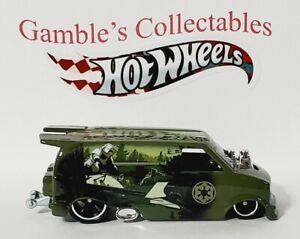 Hot Wheels 2019, Star Wars, '85 Chevy Astro Van w R/R, New, Loose (DC4394)