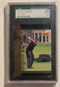2001 Upper Deck Tiger Woods Tiger Tales #TT26 SGC 8.5 (92).