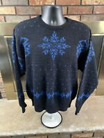 Vintage Pendleton 100% Virgin Shetland Wool  Sweater Mens Sz XL Portaland Oregon
