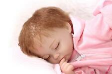 45cm Soft Silicone Reborn Doll Lifelike Newborn Handmade Baby Girl Dolls Gifts