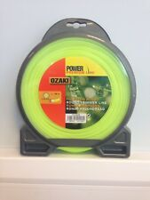 Nylon Line Ozaki Premium Round Strimmer Brushcutter 3.0mm Diameter x 56 Metre