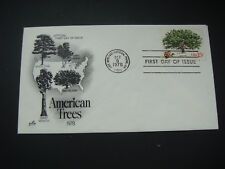 USA 1978 FIRST DAY COVER American Trees see scans
