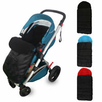New Universal Pushchair Footmuff / Cosy Toes Pram Toddler Buggy Stroller UK