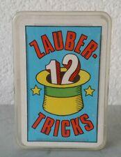 Karten Kartenspiel Quartett 12 Zaubertricks 48 Bildkarten Verlag für Lehrmittel
